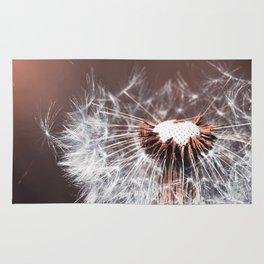 Dandelion Flower Rug