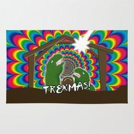 Merr-roary T-ReXmas! Rug