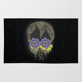 The mask we wear is one Rug
