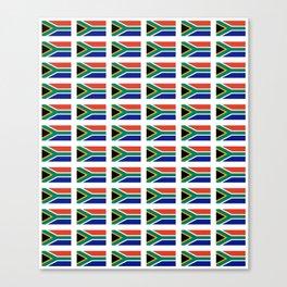 flag south africa 2,  African,Afrikaans,Mandela,apartheid, Johannesburg,Soweto,Pretoria,Durban,Tembi Canvas Print