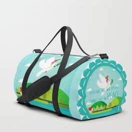 Peace mission 1 Duffle Bag