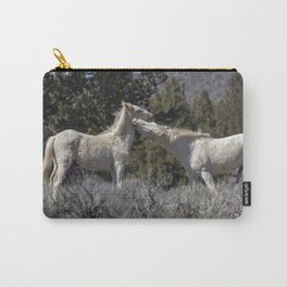 Wild Horses with Playful Spirits No 7 Carry-All Pouch