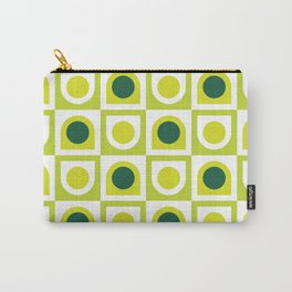 Geometric Pattern 210 (lime green) Carry-All Pouch