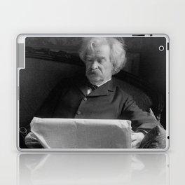 Mark Twain - American Author and Humorist Laptop & iPad Skin