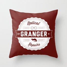 Granger Optical Repair Throw Pillow