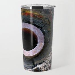 Wooden Wheel Travel Mug