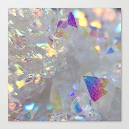 Aurora Borealis Crystals Canvas Print