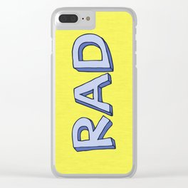 RAD Clear iPhone Case