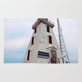 Cape Egmont Lighthouse and Radio Tower Rug