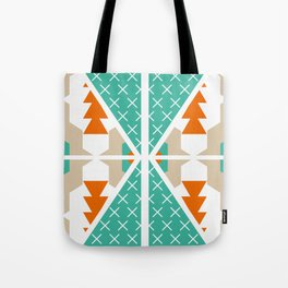 Winter shapes Tote Bag