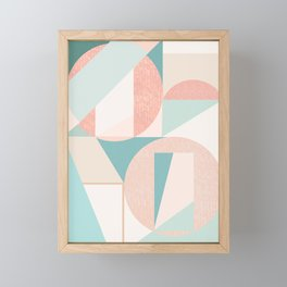 Abstract art composition Framed Mini Art Print