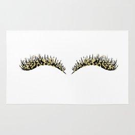 Golden dazzle lashes Rug