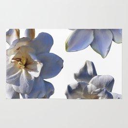 3 White Gardenias [Cecilia Lee] Rug