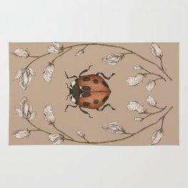 The Ladybug and Sweet Pea Rug