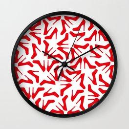 Shoe o'clock Wall Clock