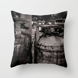 NYC Air Canister Throw Pillow