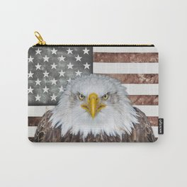 American Bald Eagle Patriot Carry-All Pouch