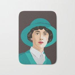 Agatha Christie Bath Mat