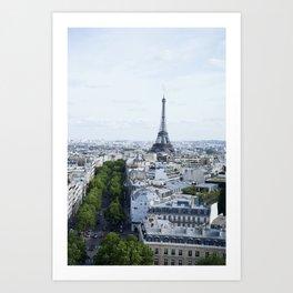 Eiffle Tower Art Print