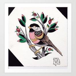 Design Bird Art Print