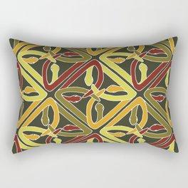 earth protractor snakes Rectangular Pillow