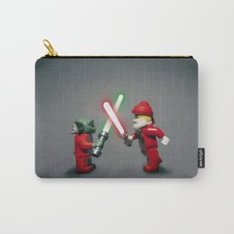 Lego Yoda Vs Santa Carry-All Pouch