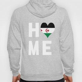 Western Sahara Is My Home Tee Shirt Hoody