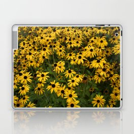 Yellow Garden Flowers Laptop & iPad Skin