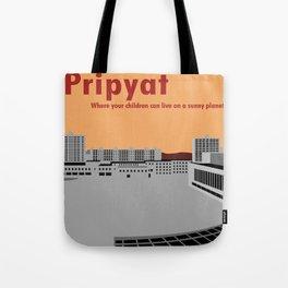 Pripyat City Square #2 Tote Bag