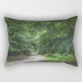 Shady Beech Path 1 Rectangular Pillow