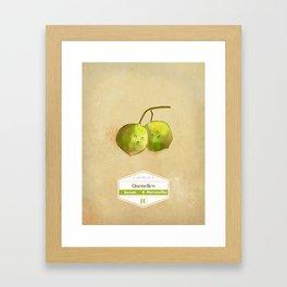 Mamoncillos Framed Art Print