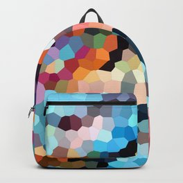 Geometric Painting Vibrants Backpack