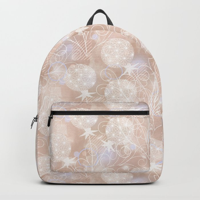 Dandelions. 2 Backpack