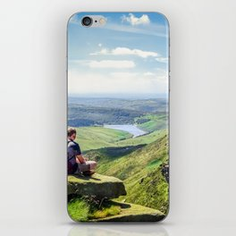 Kinder Scout. iPhone Skin