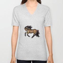 HORSE - Cherokee Unisex V-Neck