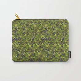 Blueberry Bushes Carry-All Pouch