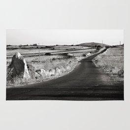 Abandoned Country Road - Sardinia - Italy Rug