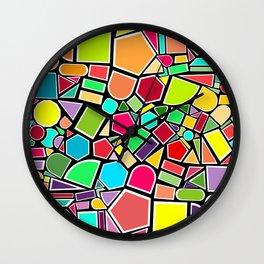 Cloure shapes Wall Clock