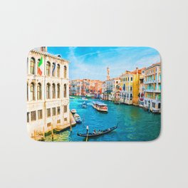 Italy. Venice lazy day Bath Mat