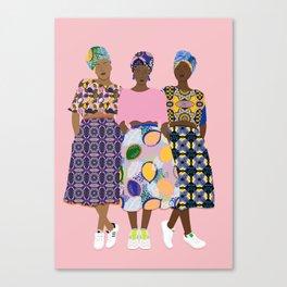 GIRLZ BAND Canvas Print