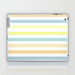 Horizontally striped , pastel 3 Laptop & iPad Skin
