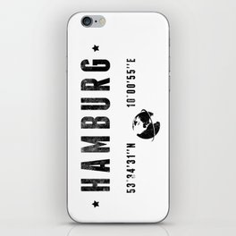 Hambourg iPhone Skin