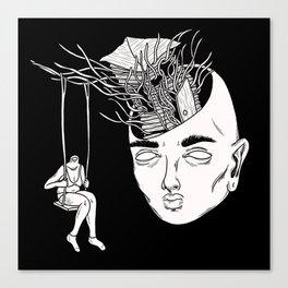 Escaping Canvas Print