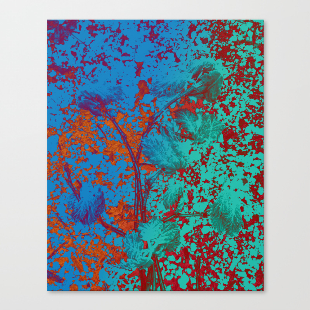 Vibrant Matters Canvas Print by Velvetwater CNV8979504