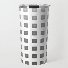 GRAY + WHITE Travel Mug