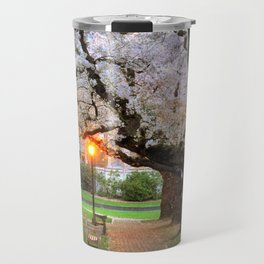 Blossoms & Benches Travel Mug