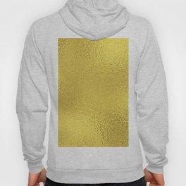 Simply Metallic in Yellow Gold Hoody