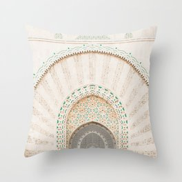 Morocco I Throw Pillow