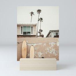 San Diego Surfing Mini Art Print