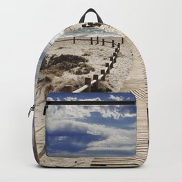 """Cabo de Gata"". Square.  Retro serie Backpack"